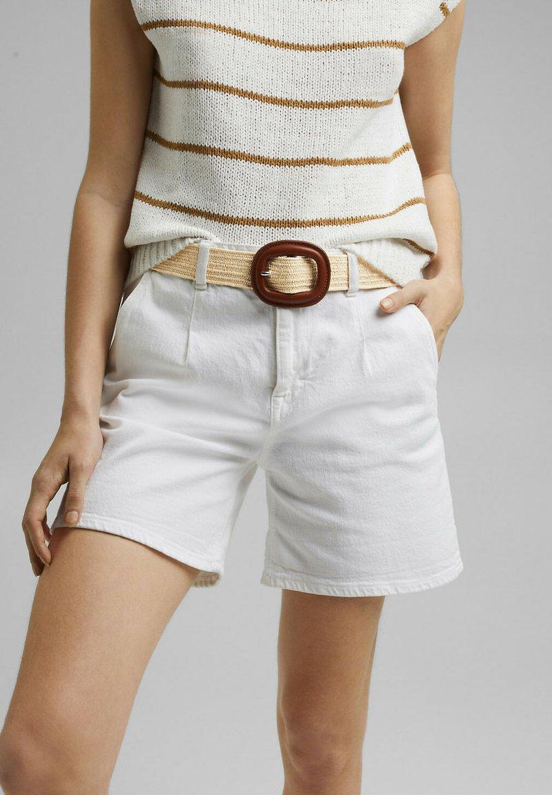 Esprit - Belt - cream beige