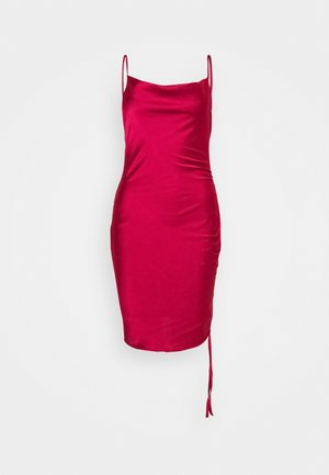 BORDO - Shift dress - burgundy
