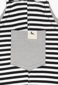 Turtledove - HUMBUG STRIPE EASY FIT BABY  - Tuinbroek - white/black - 3