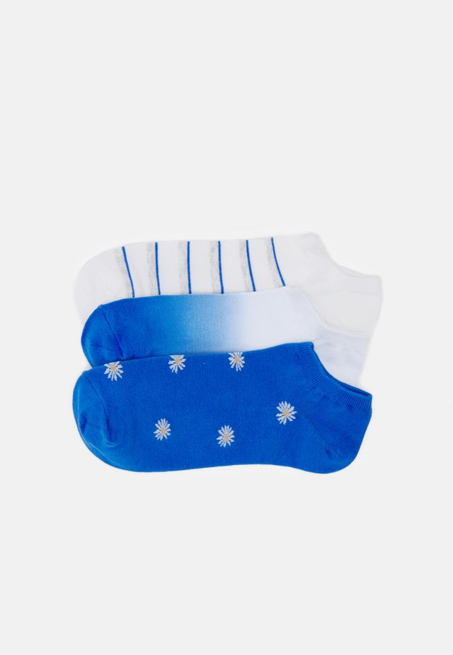 FASHION ANKLE 3 PACK - Sukat - blue