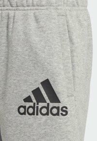 adidas Performance - BADGE OF SPORT SHORTS - Sports shorts - grey - 4