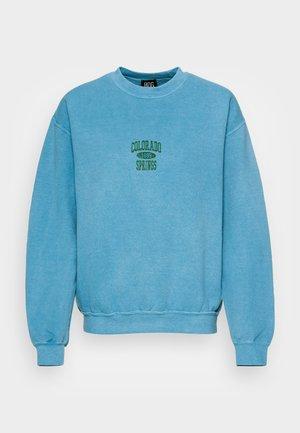 COLORADO SPRINGS CREWNECK - Sweatshirt - blue