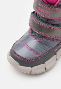 Geox - FLEXYPER GIRL - Winter boots - silver - 5