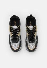 Liu Jo Jeans - MAXI  - Tenisky - black/gold/silver - 5