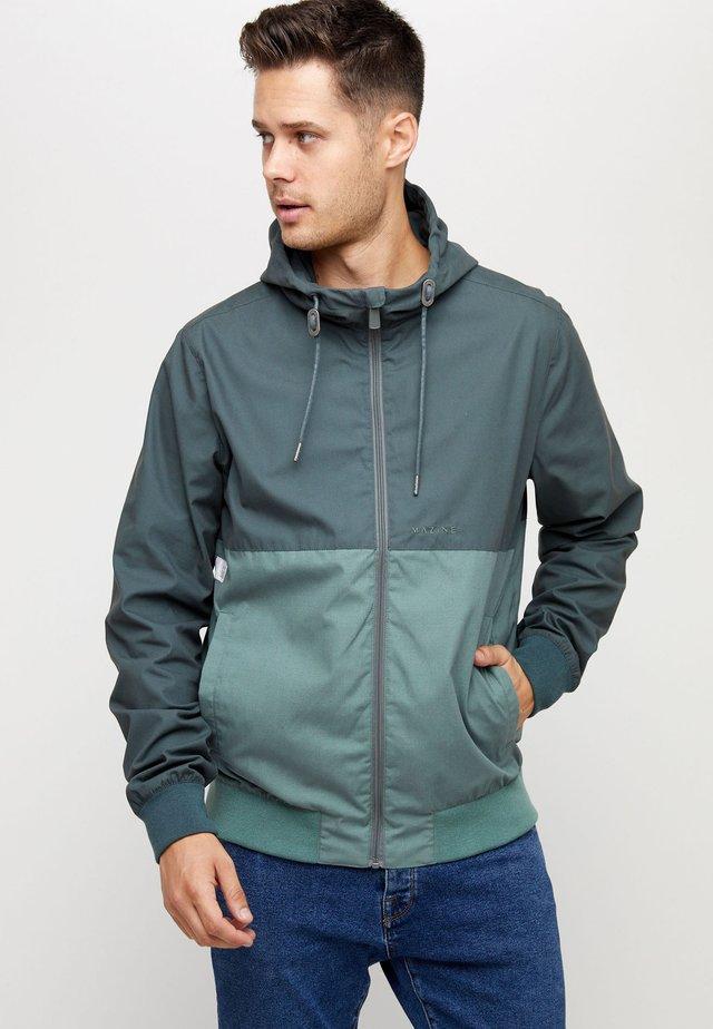 CAMPUS - Light jacket - bottle/forest