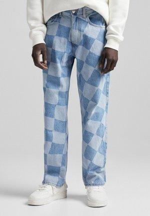 LASER - Jeans straight leg - blue denim