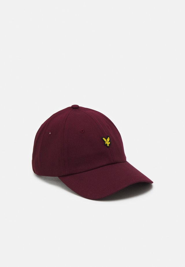 BASEBALL UNISEX - Cap - burgundy