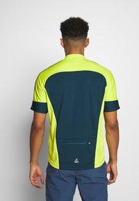 LÖFFLER - BIKE PACE - Print T-shirt - pond green - 2