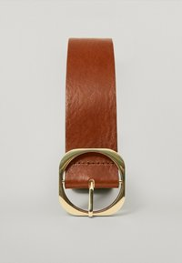 Massimo Dutti - MIT QUADRATISCHER SCHNALLE - Belt - brown - 2