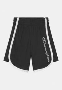 Champion - PLAY LIKE A CHAMPION UNISEX - Sports shorts - black - 0