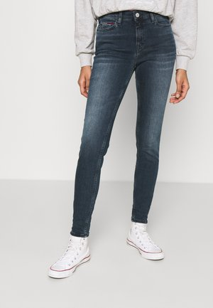 NORA - Jeansy Skinny Fit - dark-blue denim
