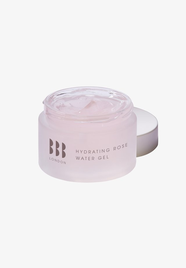 HYDRATING ROSE WATER GEL - Face cream - -