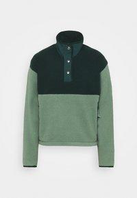 The North Face - CRAGMONT SNAP SCARABGR - Fleece jumper - scarab green/laurel wreath green - 0