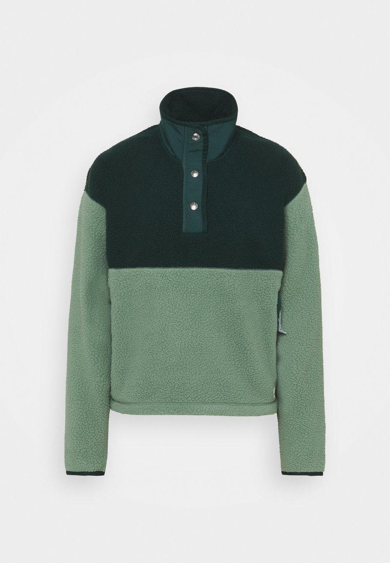 The North Face - CRAGMONT SNAP SCARABGR - Fleece jumper - scarab green/laurel wreath green