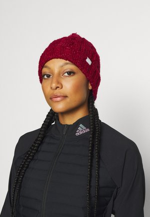 POM BEANIE - Beanie - power berry