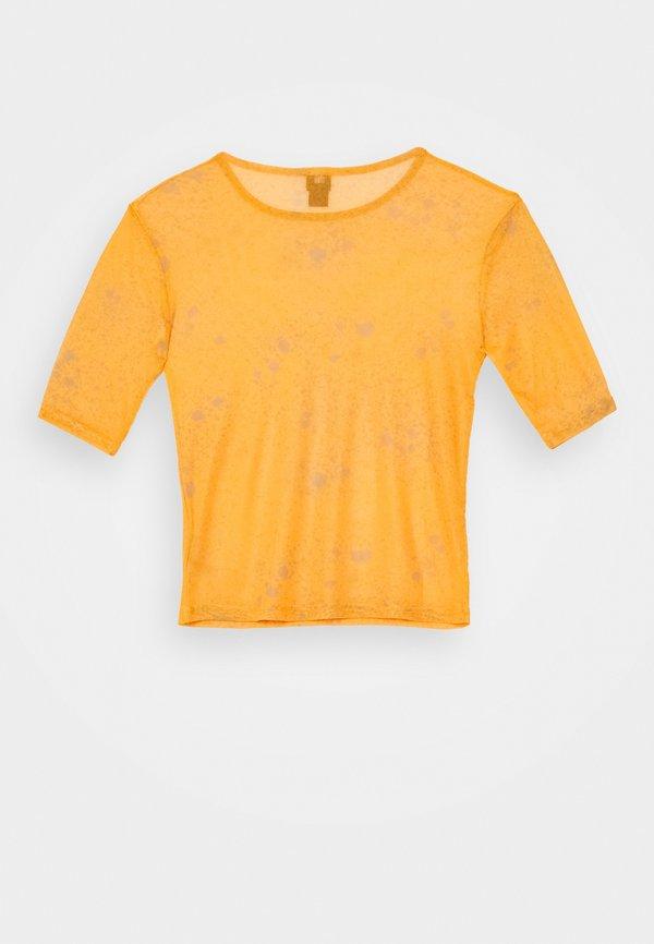 BDG Urban Outfitters T-shirt z nadrukiem - orange Nadruk Odzież Damska EOTG AC 3