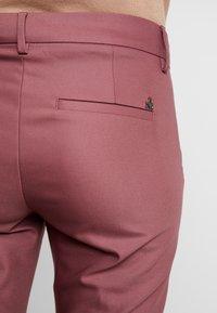 Mos Mosh - ABBEY PANT  - Trousers - wild plum - 4