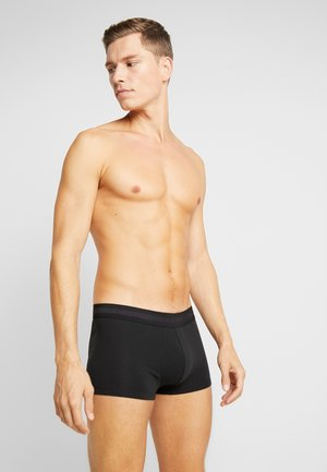 LOW RISE TRUNK 3 PACK - Panties - black
