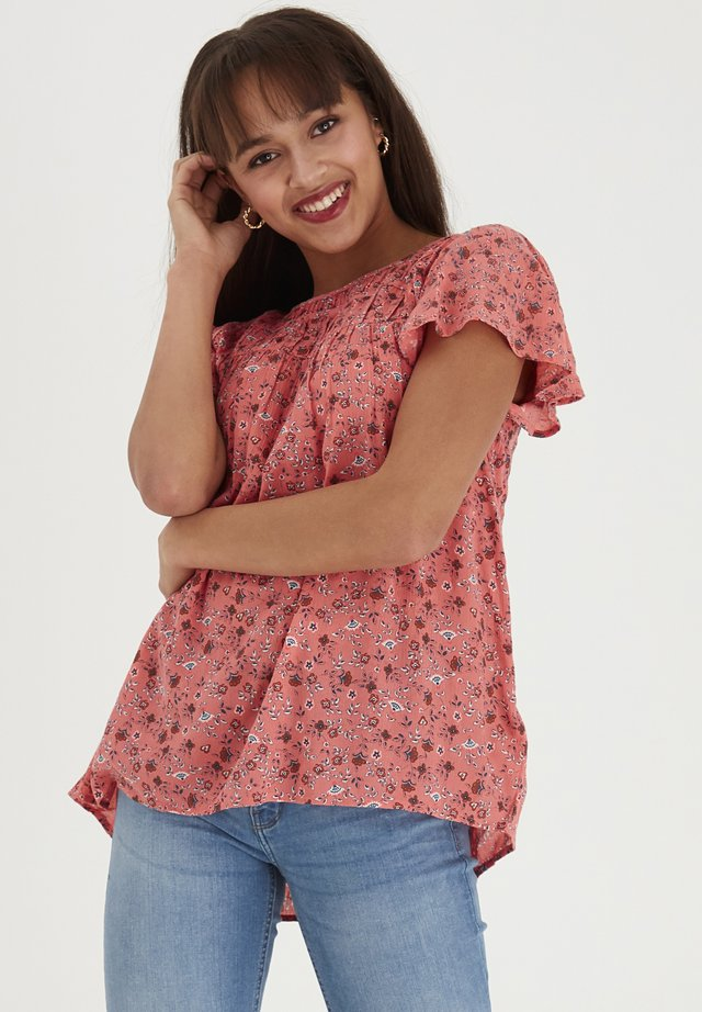 FRIPCRINKLE 3 TOP - Blouse - shell pink mix
