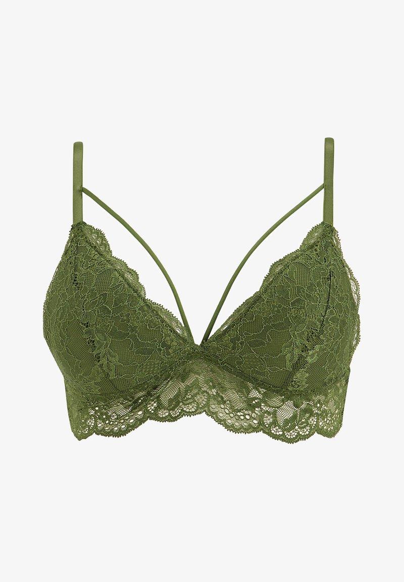 DeFacto - Triangle bra - green