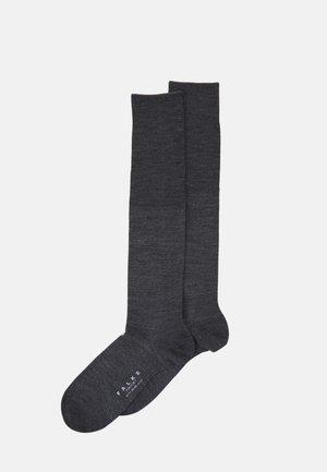 AIRPORT - Knee high socks - dark grey