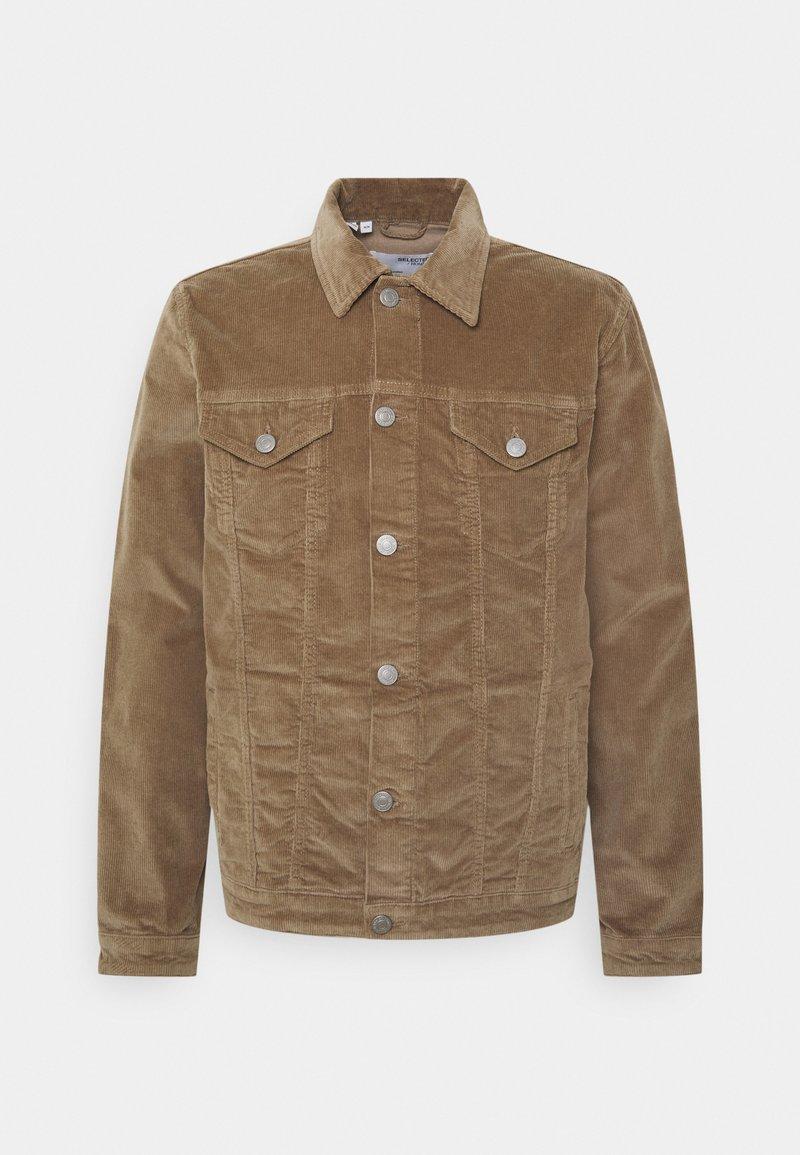 Selected Homme - SLHJEPPE JACKET - Summer jacket - greige