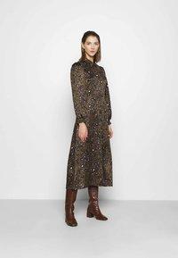 Vero Moda - VMSANDRA LILLIAN SHIRT DRESS  - Shirt dress - beech/sandra - 0