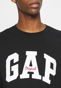 GAP - ARCH - Long sleeved top - true black - 5