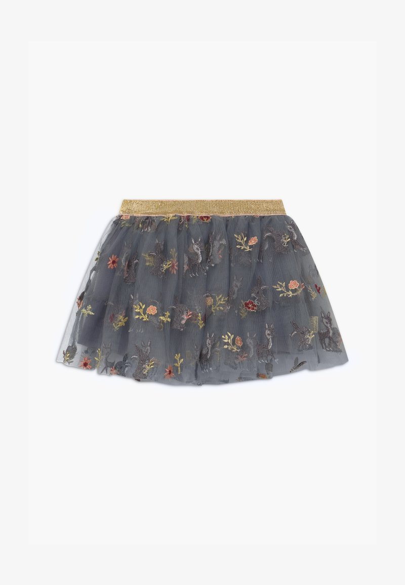 Hust & Claire - NELLA - A-line skirt - blue flint