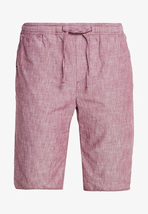 PULLON CHAMBRAY - Shorts - bordeaux red