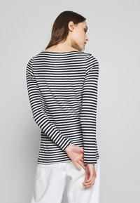Marc O'Polo - LONG SLEEVE BOAT NECK STRIPED - Longsleeve - multi/night sky - 2