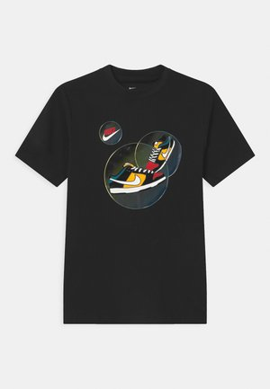 DUNK BUBBLE UNISEX - Print T-shirt - black