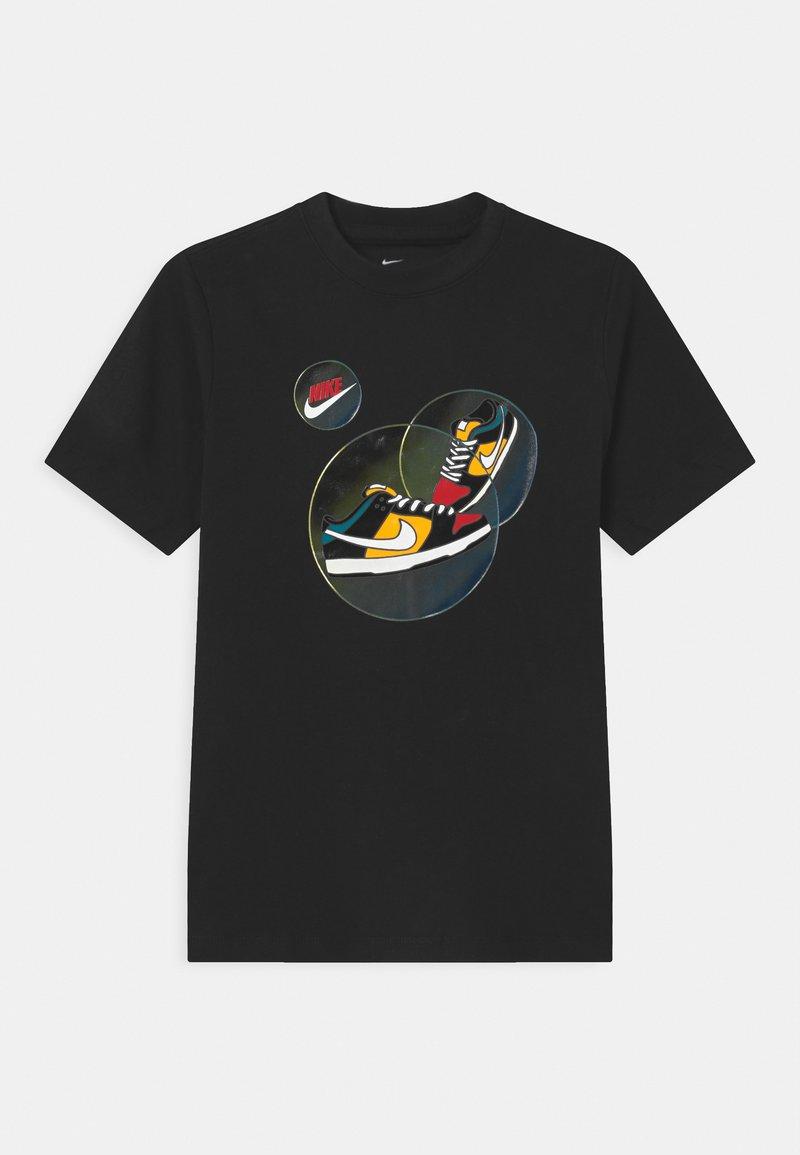 Nike Sportswear - DUNK BUBBLE UNISEX - T-shirt print - black