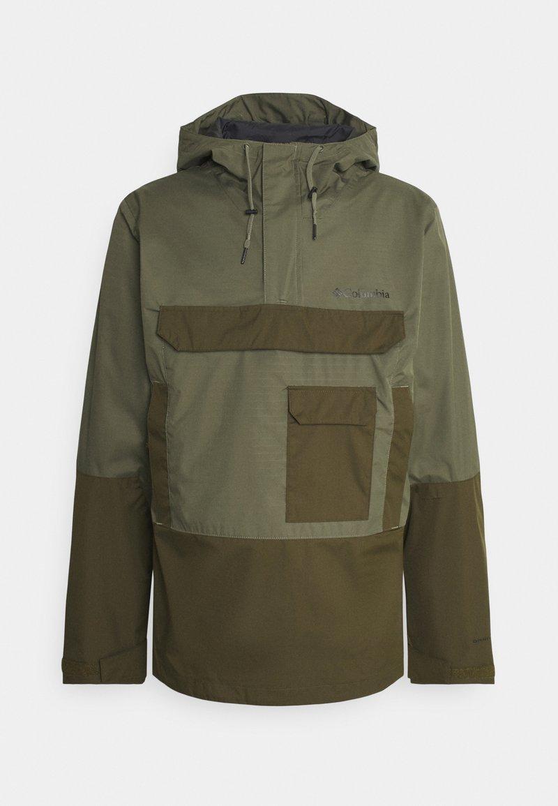 Columbia - BUCKHOLLOW™ ANORAK - Outdoor jacket - stone green/olive green