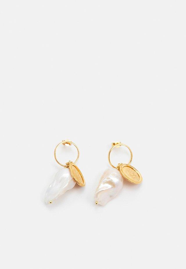 HERCULES LOST SEA BAND EARRINGS - Boucles d'oreilles - gold-coloured