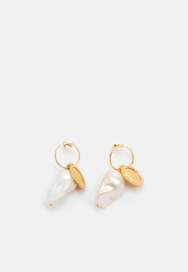 Hermina Athens - HERCULES LOST SEA BAND EARRINGS - Earrings - gold-coloured