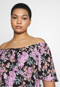 Fashion Union Plus - ROSE DRESS - Day dress - black - 4