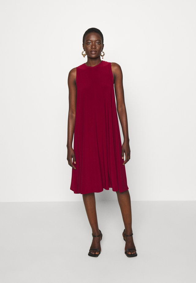 RIBALDO - Jersey dress - red