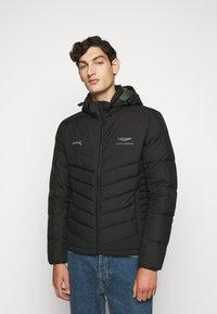 Hackett Aston Martin Racing - Gewatteerde jas - black - 0