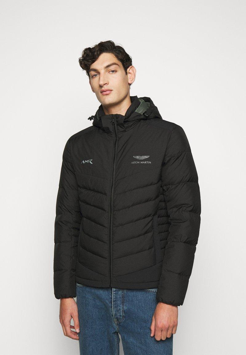 Hackett Aston Martin Racing - Gewatteerde jas - black