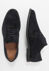 Zign - Smart lace-ups - dark blue - 1