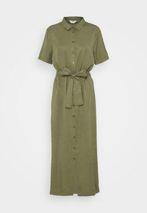 OBJTILDA ISABELLA DRESS - Sukienka koszulowa - deep lichen green