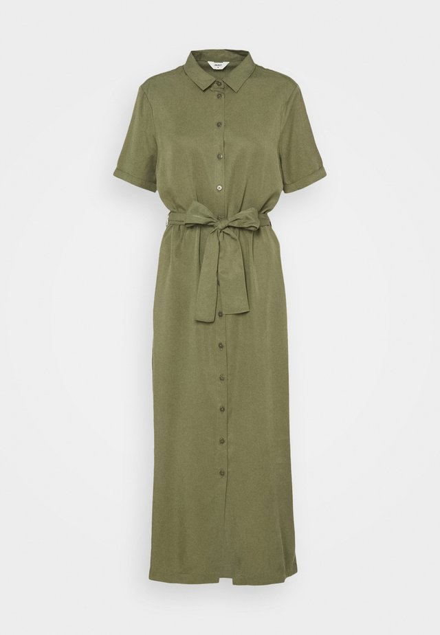 OBJTILDA ISABELLA DRESS - Blousejurk - deep lichen green