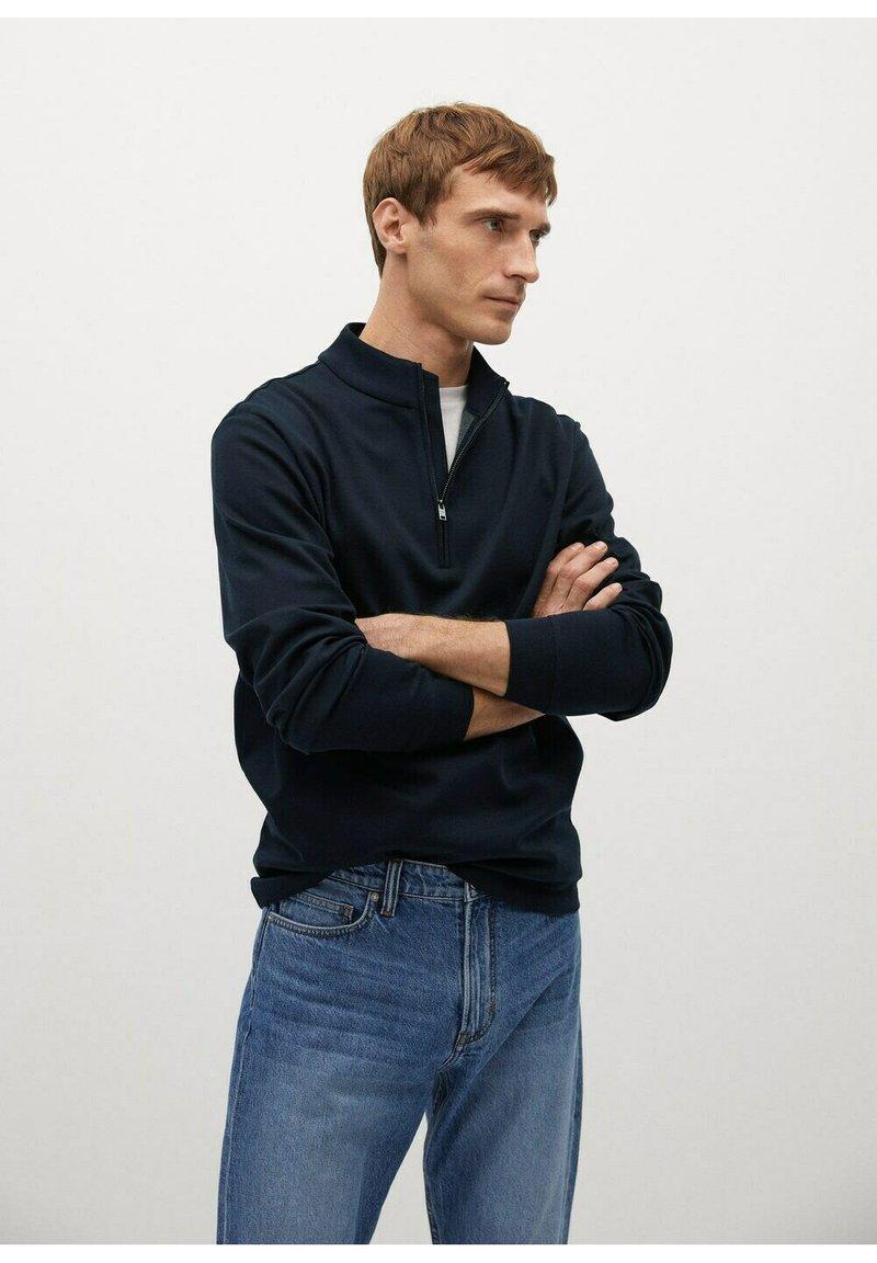 Mango - Sweatshirt - dunkles marineblau