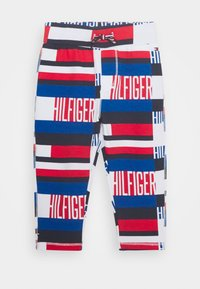 Tommy Hilfiger - BABY PRINTED SET - Trousers - blue - 2