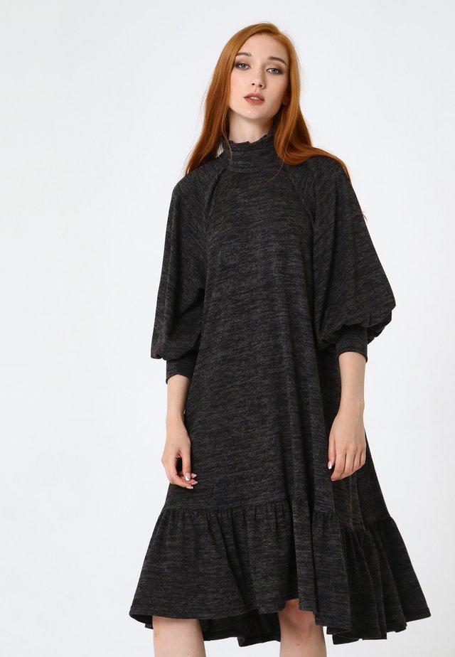 PALIANA - Korte jurk - schwarz