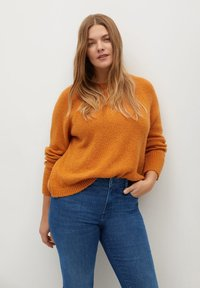 Violeta by Mango - VALENTIN - Slim fit jeans - mittelblau - 3
