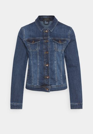 JACKET - Džínová bunda - mid blue denim