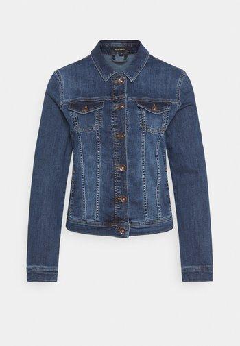 JACKET - Denim jacket - mid blue denim