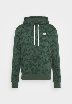 CLUB HOODIE CAMO - Sweatshirt - galactic jade/white